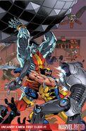 Uncanny X-Men First Class Vol 1 7 Textless