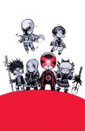 Uncanny X-Men Vol 3 1 Baby Variant Textless