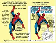 COLORED SPIDERMAN COMPARISIONS