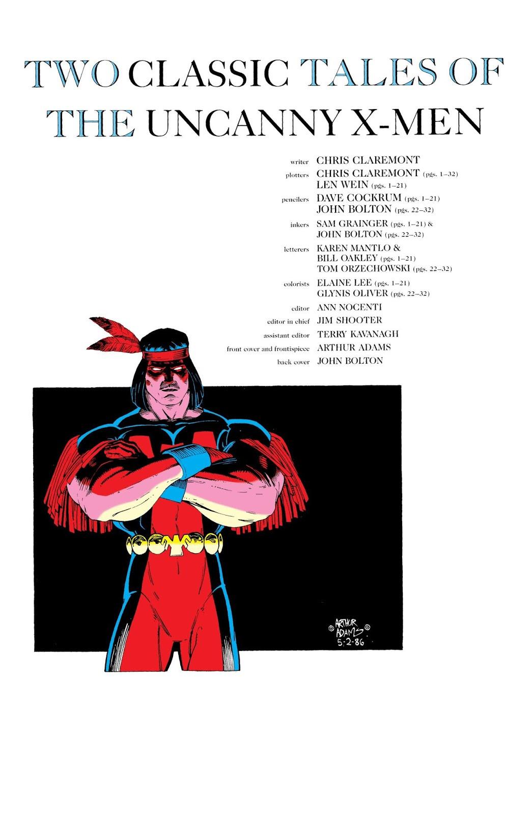 Classic X-Men Vol 1 3 Bonus 001