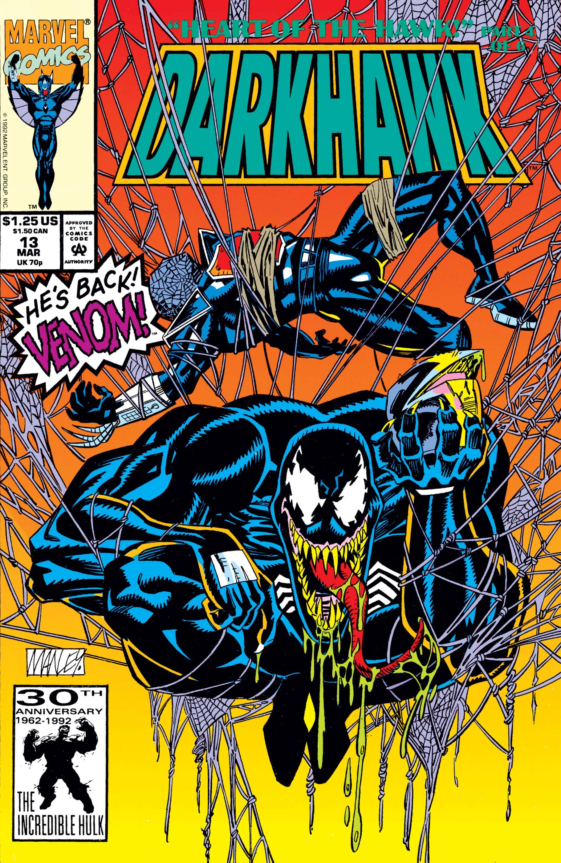 MARVEL COMICS DARKHAWK #13