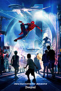 Disney Parks Super Hero Experience Poster 002