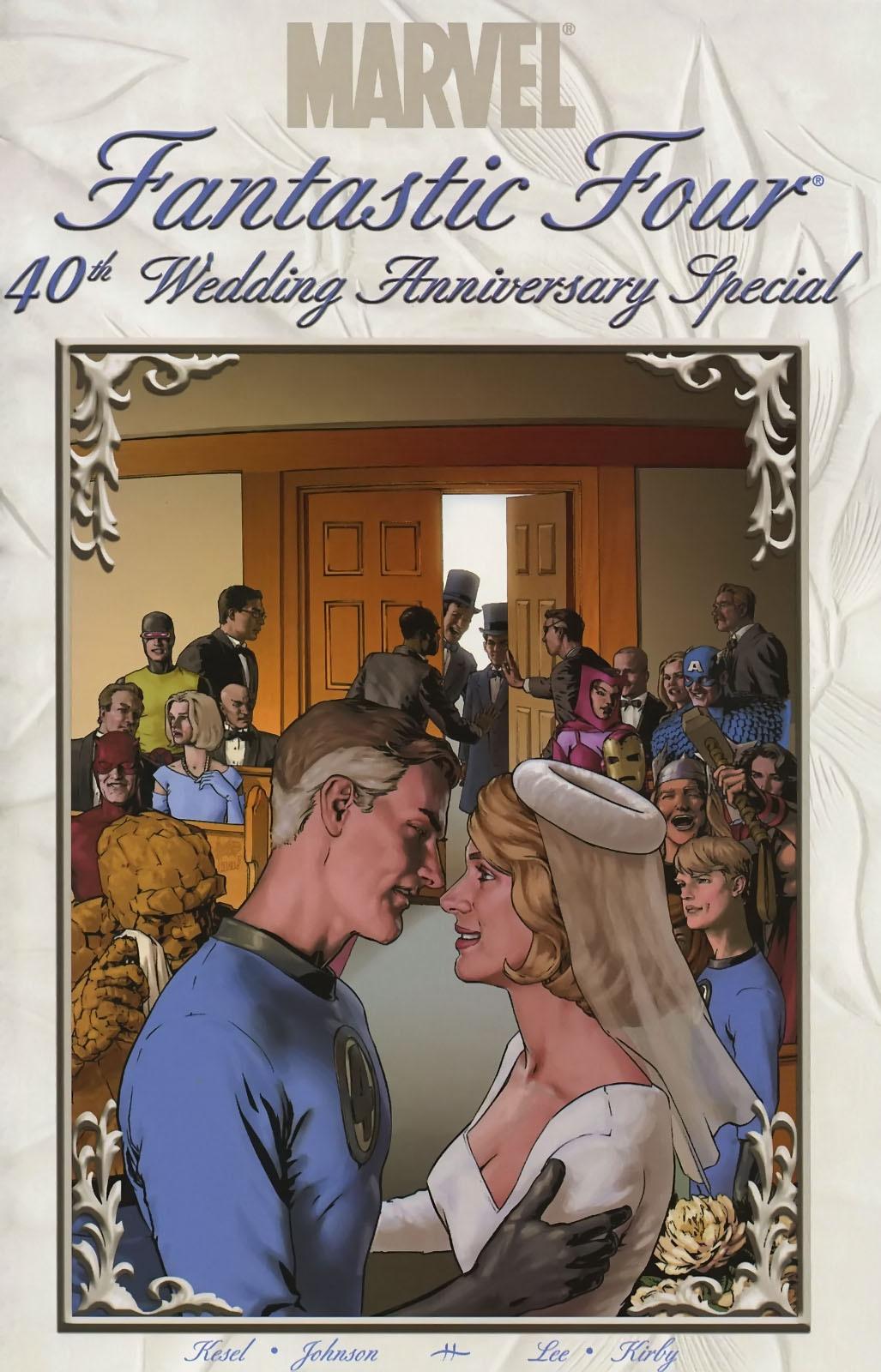 Fantastic Four The Wedding Special Vol 1 1