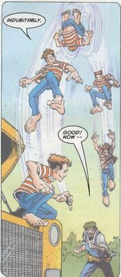 Henry McCoy (Earth-616) as a child from X-Men Unlimited Vol 1 10