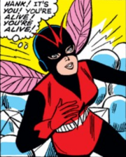 Janet Van Dyne (Earth-616) in her third Wasp costume from Tales to Astonish Vol 1 62 001