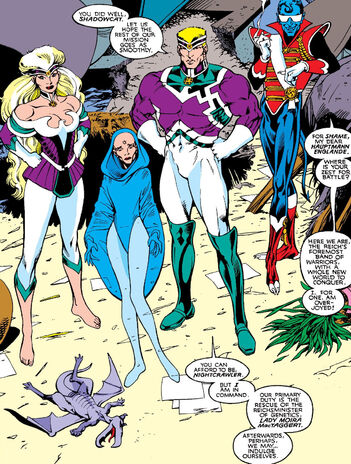 File:Lockheed (Earth-616) and Lightning Force (Earth-597) from Excalibur Vol 1 9 0001.jpg