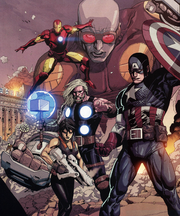 New Ultimates (Earth-1610) from Ultimate Avengers vs. New Ultimates Vol 1 5 0001