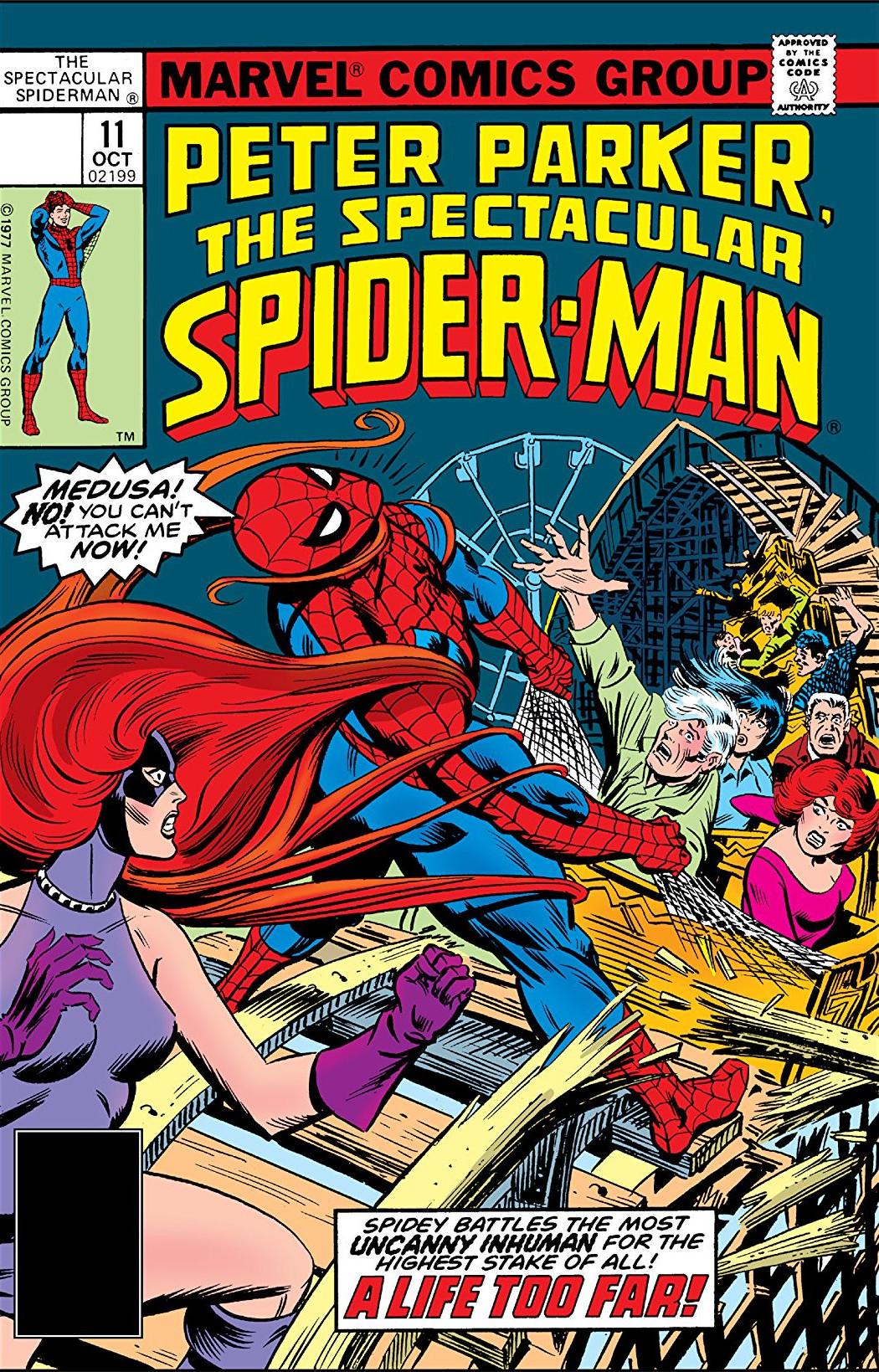 Peter Parker, The Spectacular Spider-Man Vol 1 11