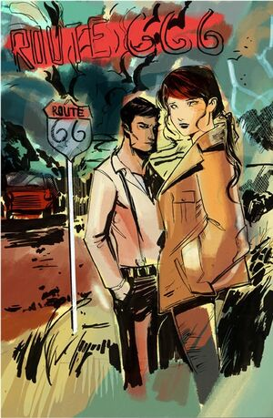 Route 666 Vol 1 1 Textless Sketch
