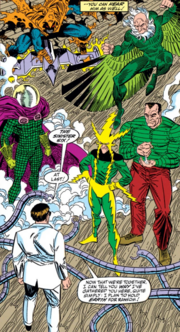 Sinister Six (Earth-616) from Amazing Spider-Man Vol 1 337