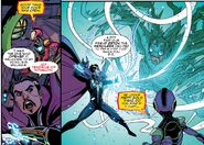 Stephen Strange (Earth-616), Riri Williams (Earth-616), and Icy Tendrils of Ikthalon from Ironheart Vol 1 8 001