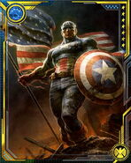 Steven Rogers (Earth-616) from Marvel War of Heroes 027