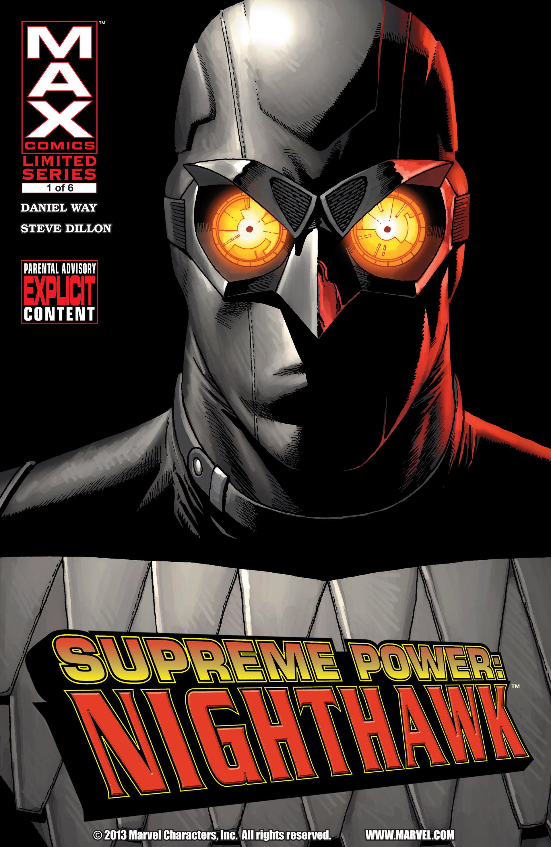 Supreme Power Nighthawk Vol 1 1