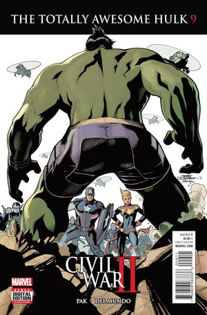 Totally Awesome Hulk Vol 1 9