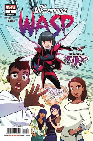 Unstoppable Wasp Vol 2 1