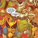 X-Imals (Earth-8311) from Spider-Ham Vol 1 2