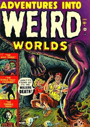 Adventures into Weird Worlds Vol 1 1