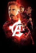 Avengers Infinity War poster 003 Textless