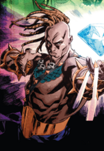 Erik Killraven (Warp World) (Earth-616) from Secret Warps Ghost Panther Annual Vol 1 1 001