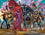 Inhumans (Inhomo supremis) from Inhumans Prime Vol 1 1 001