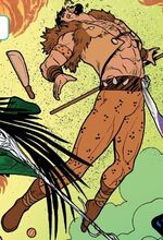 Kraven the Hunter (Arcade Android) (Earth-616) from Ghost-Spider Annual Vol 1 1 001