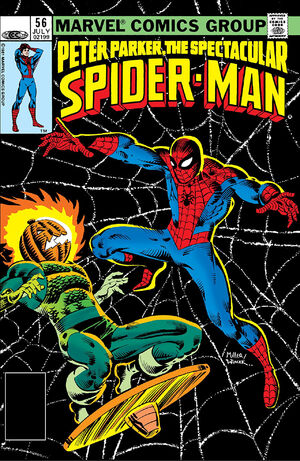 Peter Parker, The Spectacular Spider-Man Vol 1 56