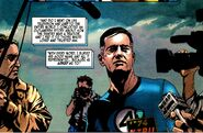 Reed Richards (Earth-616) tells the world the Sentry is a traitor from Sentry the Void Vol 1 1