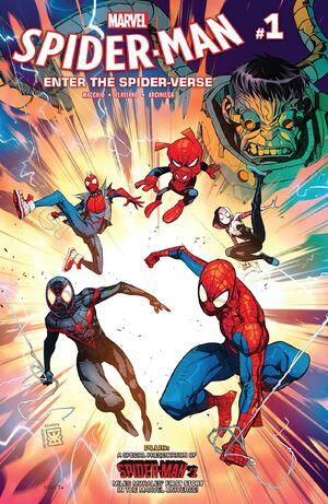 Spider-Man Enter the Spider-Verse Vol 1 1