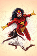 Spider-Woman Vol 5 1 Textless