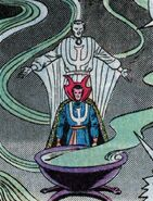 Stephen Strange (Earth-616) and Cauldron of the Cosmos from Marvel Two-In-One Vol 1 91 003