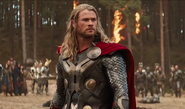Thor Odinson (Earth-199999) and Berserkers (Marauders) (Earth-199999) from Thor The Dark World 0001