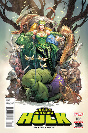 Totally Awesome Hulk Vol 1 5