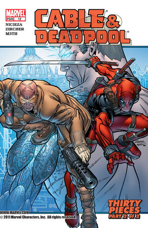 Cable & Deadpool Vol 1 12