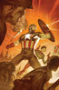 Captain America Vol 9 12 Marvels 25th Tribute Variant Textless