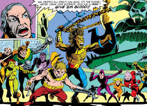 Gladiators (Earth-616) from Beauty and the Beast Vol 1 2 001