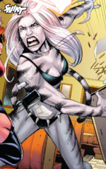 Greer Baptiste (Warp World) (Earth-616) from Secret Warps Weapon Hex Annual Vol 1 1 001