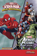 Halloween ComicFest Vol 2015 Ultimate Spider-Man Avengers Assemble