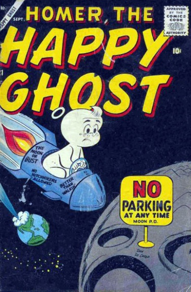 Homer, the Happy Ghost Vol 1 21