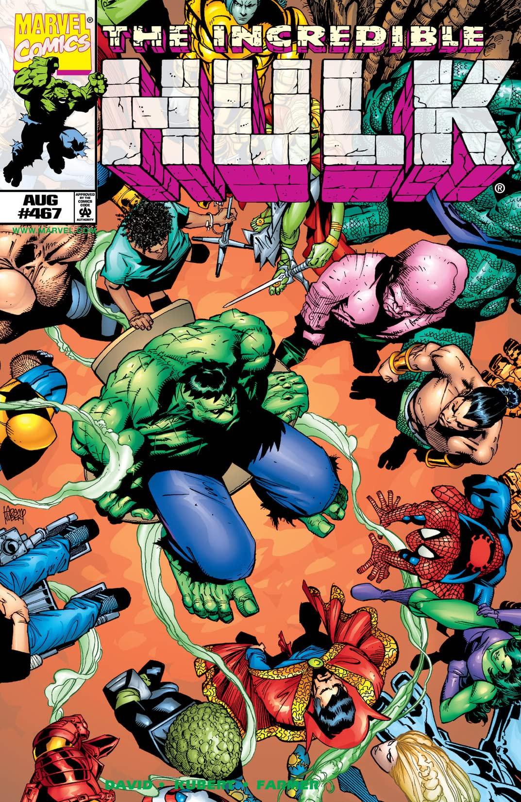 Incredible Hulk Vol 1 467