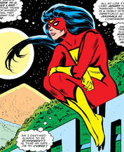 Jessica Drew (Earth-616) from Spider-Woman Vol 1 4 0001