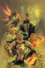Marvel Mangaverse Fantastic Four Vol 1 1 Textless
