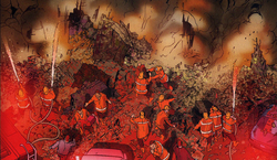 New York City Fire Department (Earth-616) from Dark Reign The List - Daredevil Vol 1 1 001