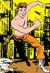 Nick Fury as a child from Strange Tales Vol 1 159