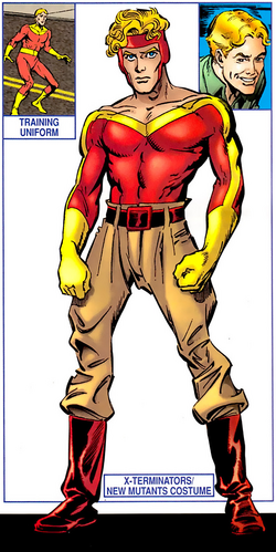 Russell Collins (Earth-616) from X-Men Phoenix Force Handbook Vol 1 1 001