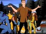 Samuel Guthrie (Earth-92131) and X-Men (Earth-92131) from X-Men The Animated Series Season 5 12 0001