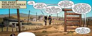 Sweet Medicine Indian Reservation from Occupy Avengers Vol 1 1 001