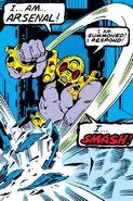 Arsenal Beta (Earth-616) from Iron Man Vol 1 114 001