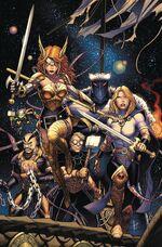 Asgardians of the Galaxy Vol 1 1 Textless