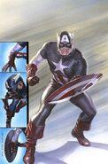 Captain America Vol 1 695 Lenticular Homage Variant Textless