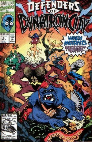 Defenders of Dynatron City Vol 1 6